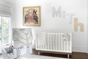 Little Girl's Sustainable Nursery, designed by Naomi Mann